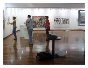 2013. Centro Cultural El Olivar. Lima, Perú.
