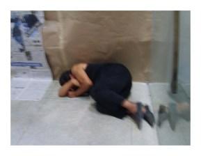 Performance coletiva Ecoar, desenvolvida por adultos na oficina A Função Social da Arte no SPA das Artes 09